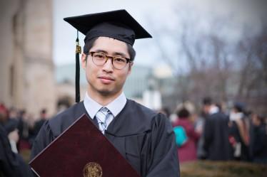 MS Graduation / Photo credit: Kun Lu