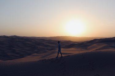 阿联酋的沙漠